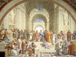 Raphael: School of Athens (Photo: Wikipedia Commons)