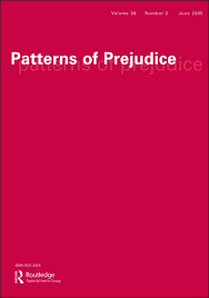 Picture of the journal Patterns of prejudice