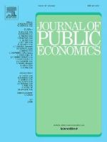 Front page of Journal of Public Economics
