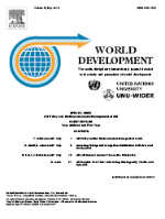 Front page of journal World Development