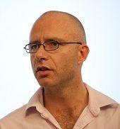 Photo of Balázs Szentes.