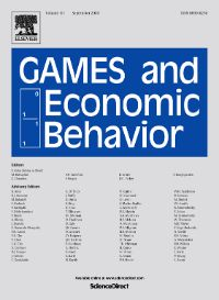 Photo: Games and Economic Behavior