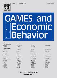 Photo: Games and Economic Behavior