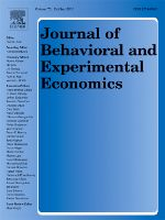 Photo: Journal of Behavioral and Experimental Economics