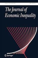 Photo: The Journal of Economic Inequality