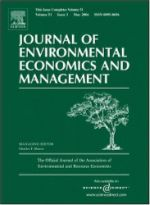 Photo: Journal of Environmental Economics and Management
