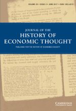 Cover photo of Journal of the History of Political Thought