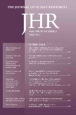 Photo: The Journal of human resources