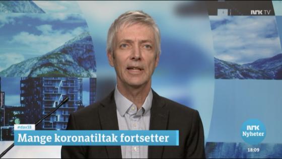 Bilde av Steinar Holden på NRK