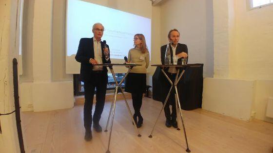 Bilde av Lars Søgard, Karen Helene Ulltveit-Moe og Harald Magnus Andreassen