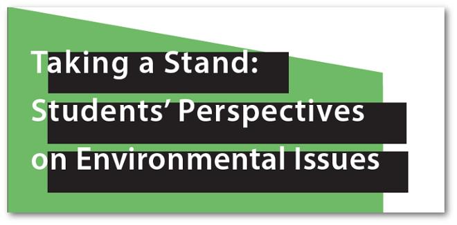 environmental issue topics