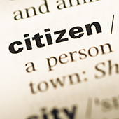 Dictionary entry for citizen