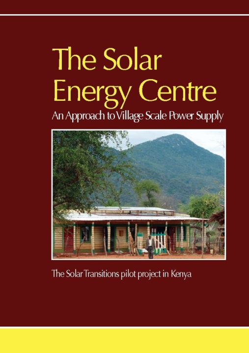 The Solar Energy Centre Report (pdf)