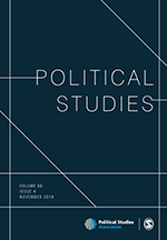 Cover of the journal Political Studies