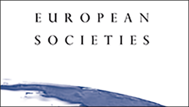 Cover of European Societies
