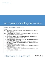 Cover of the journal European Sociological Review