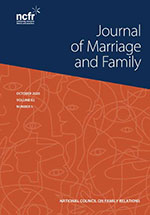Cover of Journal of Marriage and Family