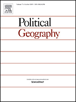 Cover of the journal Political Geography