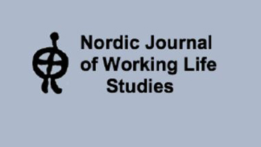 Cover of the Nordic journal of working life studies