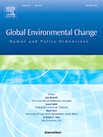 Facsimilie of the journal Global Environmental Change