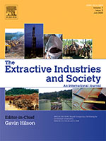 Cover of the journal The Extractive Industries and Society