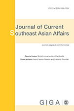 Cover of Journal of Current Southeast Asian Affairs