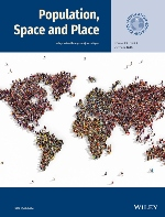 Cover of the journal Population, Space and Place