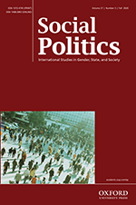 Cover of Social Politics