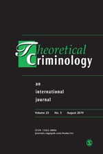 font cover of journal Theoretical Criminology