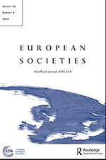 Cover of the journal  European Societies