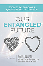 Book cover: Our entangled future
