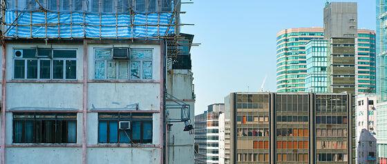 cityscape, Kowloon Island