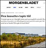 Faksimilie av artikkel i Morgenbladet