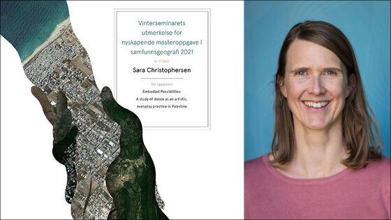 Diplom for masterpris og portrettbilde