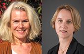 Grete Brochmann og Cathrine Holst
