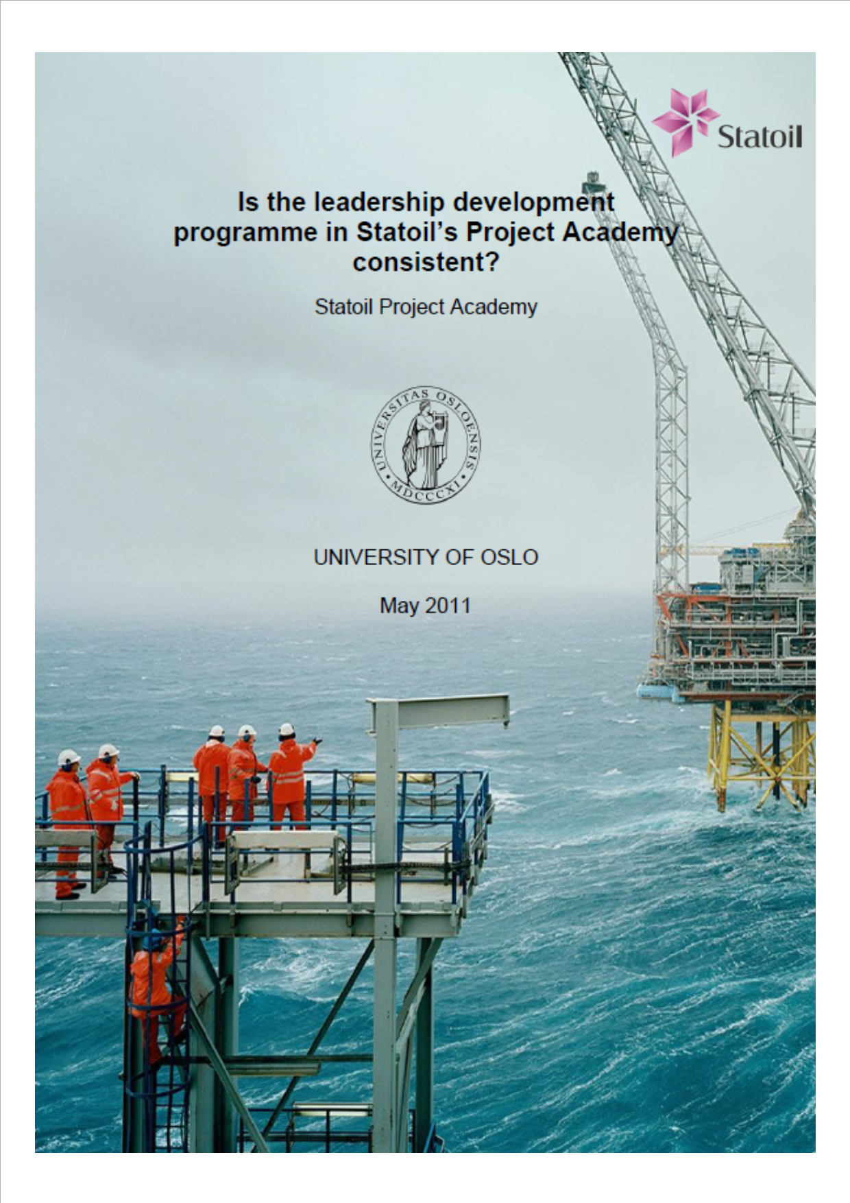 Statoil: The leadership development programme