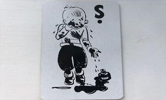 """Bilde inneholder en figur fra kortspillet """"Svarteper"""""""