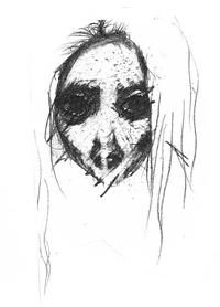 b9d8f335 Bildet er tegnet av en ungdom som ble oppfordret til å illustrere de vonde  følelsene som var vanskelig å sette ord på. Ansiktet mangler munn til å  uttrykke ...