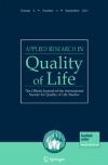 applied_-research_in-_quality_-of_-life_cover