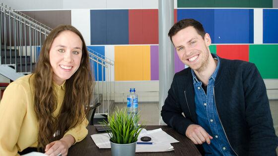 Det hele begynte på PSI, da profesjonsstudentene Vilde Vollestad og Joakim Coleman Ebeltoft fikk idéen til POFU.