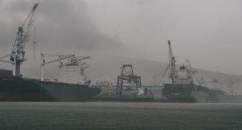Container ships being built in Subic, Philippines. Photo: Wonho Lee