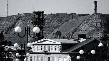 Kiruna is home to the world's largest underground iron ore mine