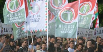 Demonstration by far-right party Jobbik, June 2012 in Budapest