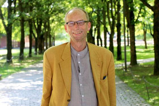 Thomas Hylland Eriksen ute