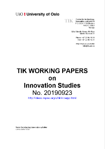 tik-working-papers-2019