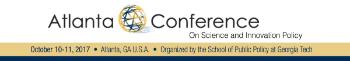 Logo of the Atlanta Conference 2017
